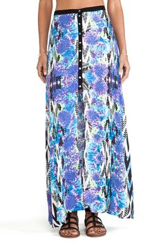 MINKPINK Garden Breeze Maxi Skirt in Multi