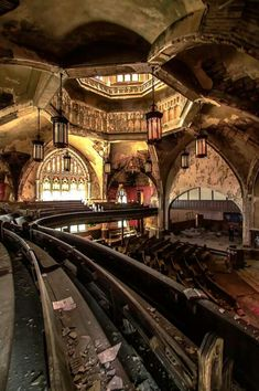 Abandoned church, Detroit Michigan