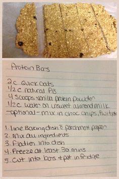 protein bar, food idea, yum, healthi food, recip, 640960 pixel, peanut butter, 600900 pixel