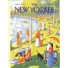 Cover Print of New Yorker, July 15 1991 | $6.60