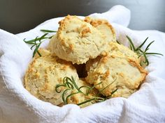 rosemary & pepper drop biscuits - Budget Bytes