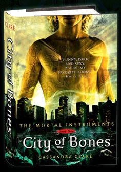 City of Bones, City of Ashes, City of Broken Glass, and City of Fallen Angels. Good story. Fifth book to come...