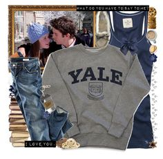 """What do you have to say to me? I love you."" by sammylynn ❤ liked on Polyvore featuring Abercrombie & Fitch, H&M, Tarina Tarantino, Red Camel, LIST and Cullen"