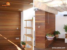 #hogar LAS MEJORES CASAS DE MÉXICO. La madera de Iroko, tiene una gran durabilidad contra hongos y termitas y se utiliza principalmente, para acabados en exteriores como puertas y ventanas. Además, tiene un hermoso tono pálido que se vuelve marrón dorado, cuando se expone a la luz del sol. En Grupo Sadasi, usted puede ejercer su crédito INFONAVIT o FOVISSSTE, para adquirir su casa en nuestros desarrollos. www.sadasi.com