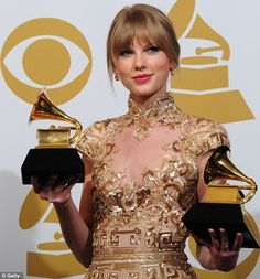 Taylor Swift - She looked great and I loved her performance at the Grammy Awards this year.