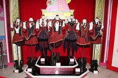 Crash punk and the Bay City Rollers into Takarazuka: AKB48 costumes on display, pic Mainichi News