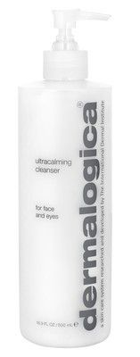 Dermalogica Ultra Calming Cleanser: An extremely gentle cleansing gel-cream that can either be rinsed off or gently removed with tissue or The Sponge Cloth. Helps combat skin sensitivity caused by exposure to pollution, harsh climate, stress, hormonal imbalance, irritating cosmetic products and other environmental influences. #Dermalogica #Discount #Cleansers #UltraCalming #SensitiveSkin #SkinCare #Gel #Cream