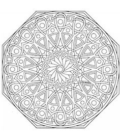 mandala trying to use as an embroidery pattern