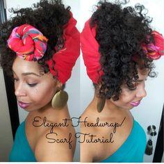 #36 Elegant Headwrap/Scarf Tutorial