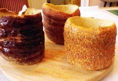 Kürtőskalács Évi néni konyhájából Chimney Cake, Cupcake Cakes, Cupcake Ideas, Naan, Evo, Main Dishes, French Toast, Pudding, Baking