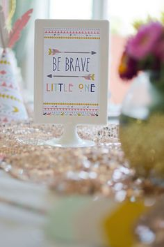 Tribal Princess Birthday Party via Kara's Party Ideas | KarasPartyIdeas.com (43)
