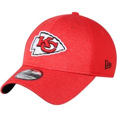 397134686 Kansas City Chiefs New Era Shadowed Team Flex Hat - Red. NFL ...