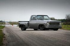 Lowrider Trucks, C10 Trucks, Hot Rod Trucks, Pickup Trucks, Old Chevy Pickups, Chevy Stepside, 87 Chevy Truck, Chevrolet Trucks, Muscle Truck