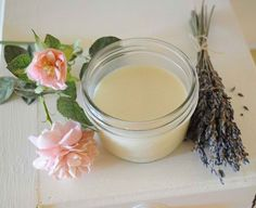 ❤ How To Make An All-Natural Lavender and Rose Deodorant With No Chemical Ingredients ❤