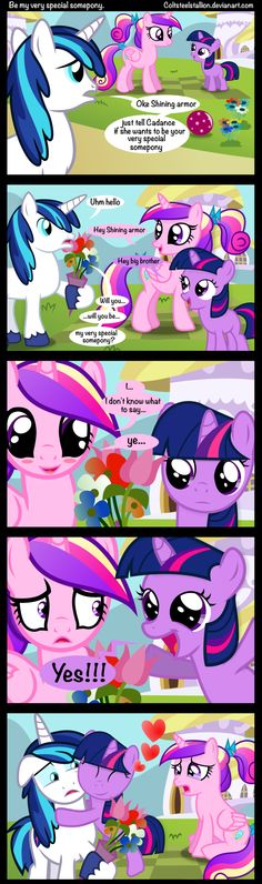 Be my very special somepony. by Coltsteelstallion on DeviantArt