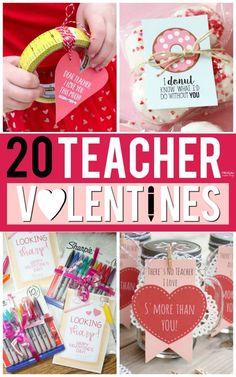 Frugal, Budget-Friendly Valentine Gifts for Teachers - Valentine Printables