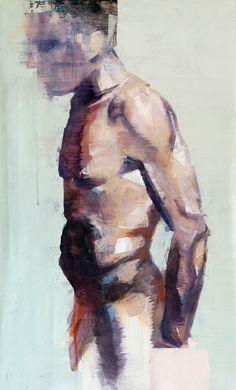 "Saatchi Online Artist: dario moschetta; Acrylic, 2013, Painting ""human aerodynamic"""