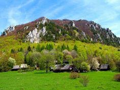 Horská osada Podšíp v Šípskej časti Veľkej Fatry pod horou Šíp