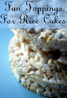 Fun Foods to Top a Rice Cake #recipes