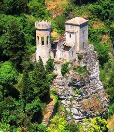 PEPOLI CASTLE, ERICE, SICILY