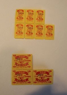 10 Top Value Trading Stamps