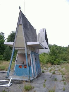 Abandoned drive in