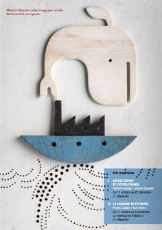 La baleine, non pas la sardine et le bateau. Loin du port. Extrait du cahier de vacances. Isidro Ferrer. a télécharger ici: http://www.mp2013.fr/wp-content/uploads/2013/09/Cahierdevacances_jeu_mp2013.pdf