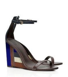 COLOR-CUBE WEDGE SANDAL  - undefined