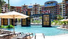 I LOVE hotel swimming pools...so over the top! This is in Cancun.