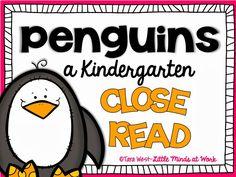 Little Minds at Work: Kindergarten Close Reads