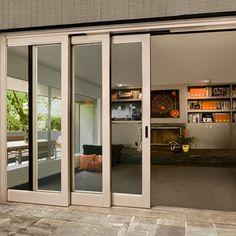 Contemporary Lift & Slide - lower level - Southland Windows, Inc.