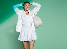 Stella McCartney for Addidas has the BEST tennis outfits!!!