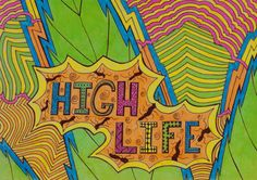☮ American Hippie Psychedelic Art Trippy ~ High Life