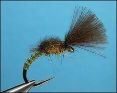 Bwo Fly Pattern Tied by bruce salzberg,