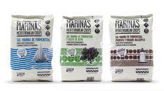 Título: Marinas Mediterranean Crisps |  Autor: Villa Mcluhan Comunicación |  Cliente: Vicente Vidal. Nice #snack #packaging PD