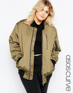ASOS Curve ASOS CURVE Ultimate Bomber Jacket - $89.00