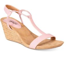 0d4b720cfa57 Women s Pink Mulan Wedge Sandals Size  10 M -New Without Box   Tags