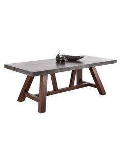 Cooper Dining Table in Black by Sunpan