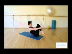 Spine Stretch - Esercizi Pilates - YouTube