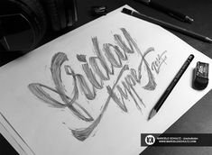 20 Amazing Examples of Typography Sketches for Your Inspiration | Inspiration