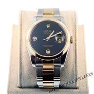 Rolex Datejust black dial #Rolex  #watches #iLA #inspiringcarlos
