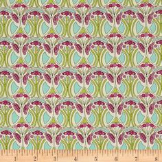 Liberty Of London Tana Lawn Mauverina Pink/Light Green/Light Turquoise from @fabricdotcom  From the world famous Liberty Of London, this exquisite cotton lawn fabric is finely woven, light weight and ultra soft. This gorgeous fabric is oh so perfect for flirty blouses, dresses, lingerie, tunics, tops and more. Colors include light turquoise, shades of pink, light green and cream.