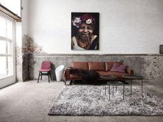Un canapé qui a du style - D'autres idées relooking sur Côté Maison http://petitlien.fr/71e8