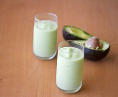 Green Healthy Drink?? Curious to taste this.  Avocado Smoothie | Kirbie's Cravings | A San Diego food blog