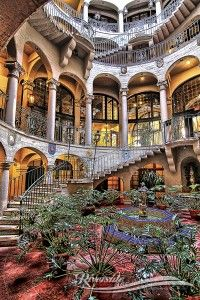 Mission Inn, Riverside, CA  Rotunda.  This place is gorgeous.  I stayed here with my sister and it was amazing.