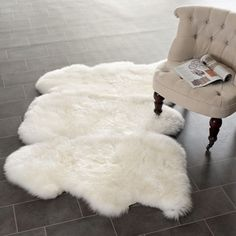 @Overstock - Safavieh's Sheepskin collection is inspired by timeless contemporary designs crafted with the softest sheepskin available.http://www.overstock.com/Home-Garden/Safavieh-Hand-woven-Sheepskin-White-Rug-3-x-5/7889104/product.html?CID=214117 $174.99