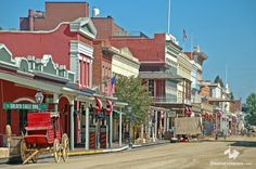 Old Sacramento, CA - a very cool place to visit if you ever go to Sacramento.