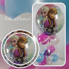 Cadeau - Kado Ballon - Frozen - Grote Harten - van BallonPlus.nl
