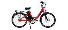 Sprint - Classic City Electric Bike (Sprint Red) | eZee Bike