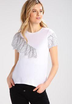 Topshop Maternity T-shirt con stampa - white - Zalando.it